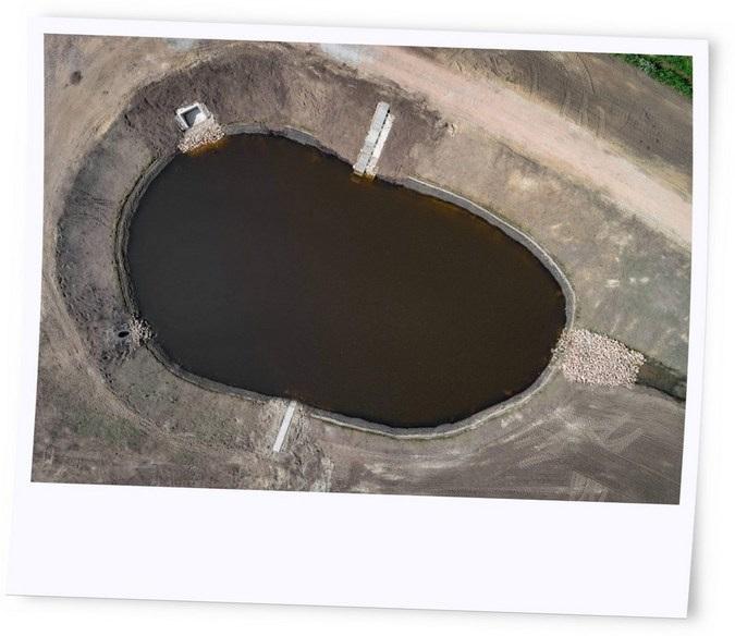 Regenwasserschutzanlage vermeiden eine Überlastung von Abwasserkanälen